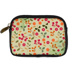 Elegant Floral Seamless Pattern Digital Camera Cases