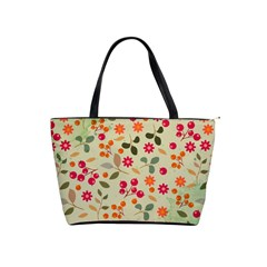 Elegant Floral Seamless Pattern Shoulder Handbags