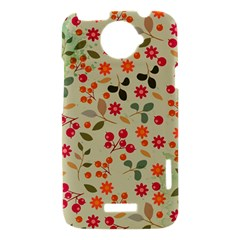 Elegant Floral Seamless Pattern HTC One X Hardshell Case