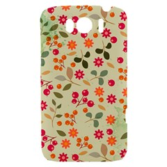 Elegant Floral Seamless Pattern HTC Sensation XL Hardshell Case