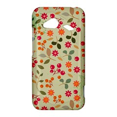 Elegant Floral Seamless Pattern HTC Droid Incredible 4G LTE Hardshell Case
