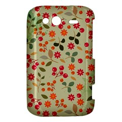Elegant Floral Seamless Pattern HTC Wildfire S A510e Hardshell Case