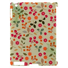 Elegant Floral Seamless Pattern Apple iPad 2 Hardshell Case (Compatible with Smart Cover)