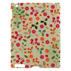Elegant Floral Seamless Pattern Apple iPad 3/4 Hardshell Case