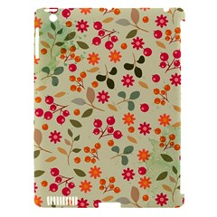 Elegant Floral Seamless Pattern Apple iPad 3/4 Hardshell Case (Compatible with Smart Cover)