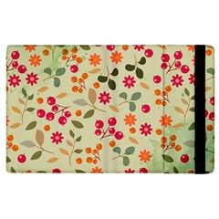 Elegant Floral Seamless Pattern Apple Ipad 2 Flip Case