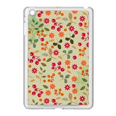 Elegant Floral Seamless Pattern Apple iPad Mini Case (White)