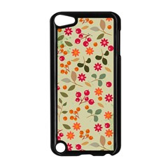 Elegant Floral Seamless Pattern Apple Ipod Touch 5 Case (black)