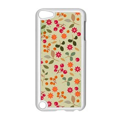 Elegant Floral Seamless Pattern Apple iPod Touch 5 Case (White)
