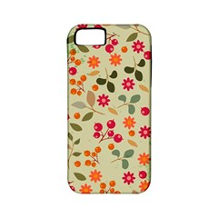 Elegant Floral Seamless Pattern Apple iPhone 5 Classic Hardshell Case (PC+Silicone)
