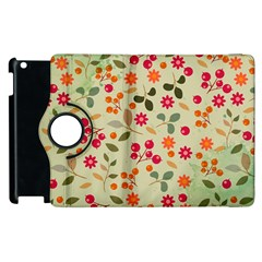 Elegant Floral Seamless Pattern Apple Ipad 3/4 Flip 360 Case