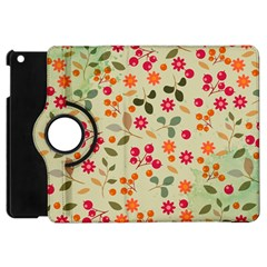 Elegant Floral Seamless Pattern Apple iPad Mini Flip 360 Case