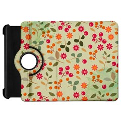 Elegant Floral Seamless Pattern Kindle Fire HD Flip 360 Case