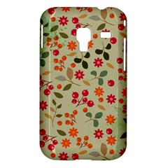 Elegant Floral Seamless Pattern Samsung Galaxy Ace Plus S7500 Hardshell Case