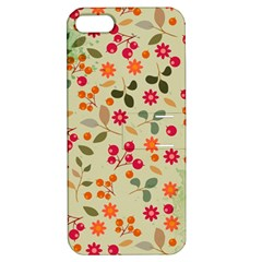 Elegant Floral Seamless Pattern Apple iPhone 5 Hardshell Case with Stand
