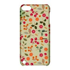 Elegant Floral Seamless Pattern Apple Ipod Touch 5 Hardshell Case With Stand