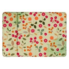 Elegant Floral Seamless Pattern Samsung Galaxy Tab 8.9  P7300 Flip Case