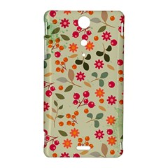 Elegant Floral Seamless Pattern Sony Xperia TX