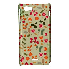 Elegant Floral Seamless Pattern Sony Xperia J