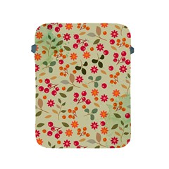 Elegant Floral Seamless Pattern Apple Ipad 2/3/4 Protective Soft Cases