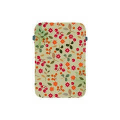 Elegant Floral Seamless Pattern Apple iPad Mini Protective Soft Cases