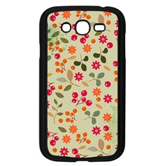 Elegant Floral Seamless Pattern Samsung Galaxy Grand Duos I9082 Case (black)