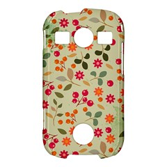 Elegant Floral Seamless Pattern Samsung Galaxy S7710 Xcover 2 Hardshell Case
