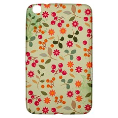 Elegant Floral Seamless Pattern Samsung Galaxy Tab 3 (8 ) T3100 Hardshell Case
