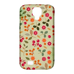 Elegant Floral Seamless Pattern Samsung Galaxy S4 Classic Hardshell Case (PC+Silicone)