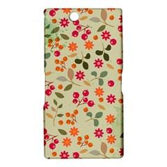 Elegant Floral Seamless Pattern Sony Xperia Z Ultra