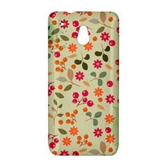Elegant Floral Seamless Pattern HTC One Mini (601e) M4 Hardshell Case