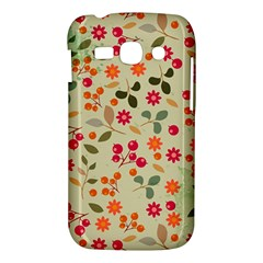 Elegant Floral Seamless Pattern Samsung Galaxy Ace 3 S7272 Hardshell Case
