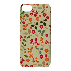 Elegant Floral Seamless Pattern Apple iPhone 5S/ SE Hardshell Case
