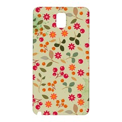 Elegant Floral Seamless Pattern Samsung Galaxy Note 3 N9005 Hardshell Back Case