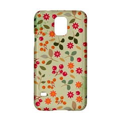 Elegant Floral Seamless Pattern Samsung Galaxy S5 Hardshell Case
