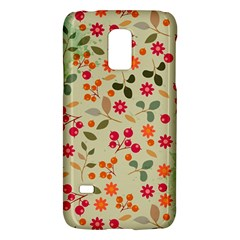 Elegant Floral Seamless Pattern Galaxy S5 Mini