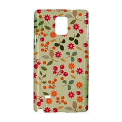 Elegant Floral Seamless Pattern Samsung Galaxy Note 4 Hardshell Case