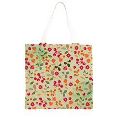 Elegant Floral Seamless Pattern Grocery Light Tote Bag