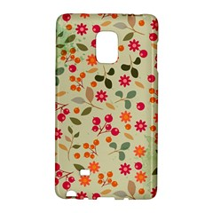 Elegant Floral Seamless Pattern Galaxy Note Edge