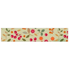 Elegant Floral Seamless Pattern Flano Scarf (small)