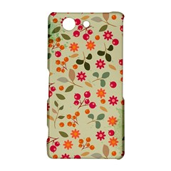 Elegant Floral Seamless Pattern Sony Xperia Z3 Compact