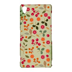 Elegant Floral Seamless Pattern Sony Xperia Z3