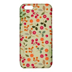 Elegant Floral Seamless Pattern iPhone 6/6S TPU Case