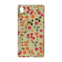 Elegant Floral Seamless Pattern Sony Xperia Z3+