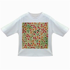 Elegant Floral Seamless Pattern Infant/toddler T Shirts