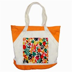Seamless Autumn Leaves Pattern  Accent Tote Bag