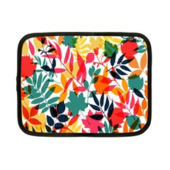 Seamless Autumn Leaves Pattern  Netbook Case (Small)