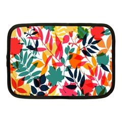 Seamless Autumn Leaves Pattern  Netbook Case (Medium)