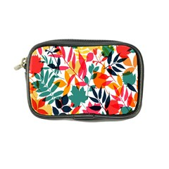 Seamless Autumn Leaves Pattern  Coin Purse