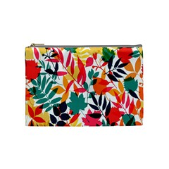 Seamless Autumn Leaves Pattern  Cosmetic Bag (medium)